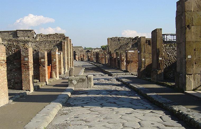 tour a Pompei